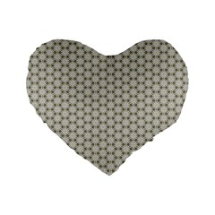 Background Website Pattern Soft Standard 16  Premium Flano Heart Shape Cushions