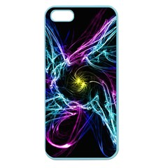 Abstract Art Color Design Lines Apple Seamless Iphone 5 Case (color) by Nexatart