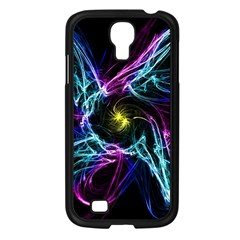 Abstract Art Color Design Lines Samsung Galaxy S4 I9500/ I9505 Case (black) by Nexatart
