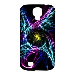 Abstract Art Color Design Lines Samsung Galaxy S4 Classic Hardshell Case (pc+silicone)