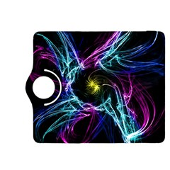 Abstract Art Color Design Lines Kindle Fire Hdx 8 9  Flip 360 Case