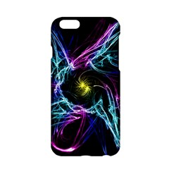 Abstract Art Color Design Lines Apple Iphone 6/6s Hardshell Case by Nexatart