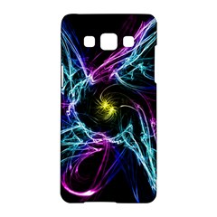 Abstract Art Color Design Lines Samsung Galaxy A5 Hardshell Case  by Nexatart
