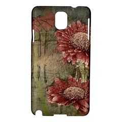 Flowers Plant Red Drawing Art Samsung Galaxy Note 3 N9005 Hardshell Case