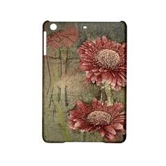 Flowers Plant Red Drawing Art Ipad Mini 2 Hardshell Cases by Nexatart