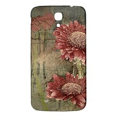 Flowers Plant Red Drawing Art Samsung Galaxy Mega I9200 Hardshell Back Case by Nexatart