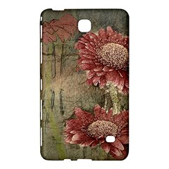 Flowers Plant Red Drawing Art Samsung Galaxy Tab 4 (7 ) Hardshell Case