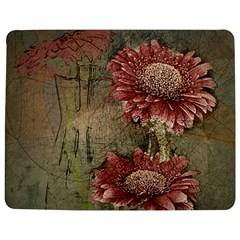 Flowers Plant Red Drawing Art Jigsaw Puzzle Photo Stand (rectangular)