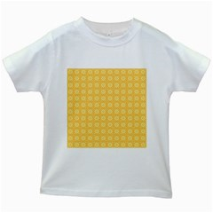 Pattern Background Texture Kids White T Shirts