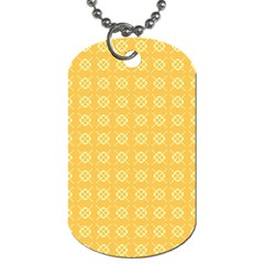 Pattern Background Texture Dog Tag (one Side) by Nexatart