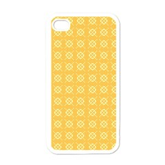 Pattern Background Texture Apple Iphone 4 Case (white)