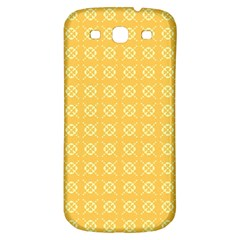 Pattern Background Texture Samsung Galaxy S3 S Iii Classic Hardshell Back Case by Nexatart