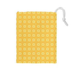 Pattern Background Texture Drawstring Pouches (large)