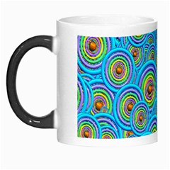 Digital Art Circle About Colorful Morph Mugs