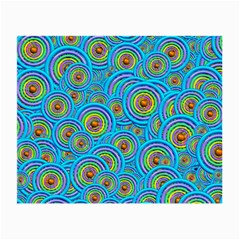Digital Art Circle About Colorful Small Glasses Cloth by Nexatart