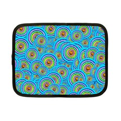 Digital Art Circle About Colorful Netbook Case (small)  by Nexatart