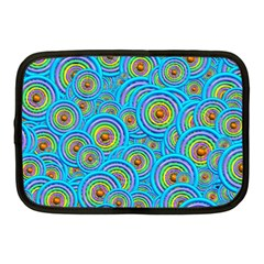 Digital Art Circle About Colorful Netbook Case (medium)