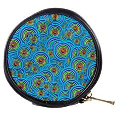 Digital Art Circle About Colorful Mini Makeup Bags by Nexatart