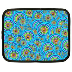 Digital Art Circle About Colorful Netbook Case (xl)  by Nexatart