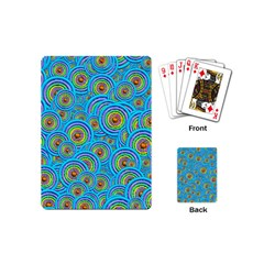 Digital Art Circle About Colorful Playing Cards (mini)  by Nexatart