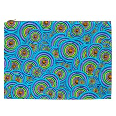 Digital Art Circle About Colorful Cosmetic Bag (xxl)  by Nexatart