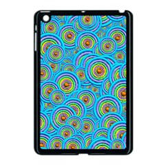 Digital Art Circle About Colorful Apple Ipad Mini Case (black) by Nexatart