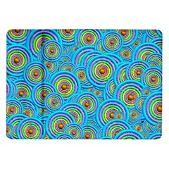 Digital Art Circle About Colorful Samsung Galaxy Tab 10 1  P7500 Flip Case