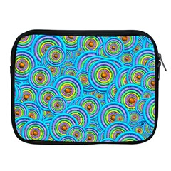 Digital Art Circle About Colorful Apple Ipad 2/3/4 Zipper Cases