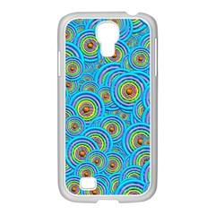 Digital Art Circle About Colorful Samsung Galaxy S4 I9500/ I9505 Case (white) by Nexatart