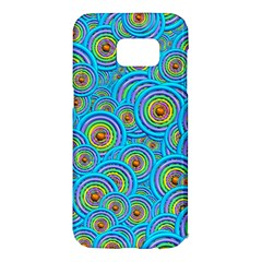 Digital Art Circle About Colorful Samsung Galaxy S7 Edge Hardshell Case
