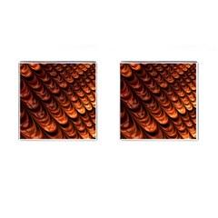 Fractal Mathematics Frax Cufflinks (square) by Nexatart