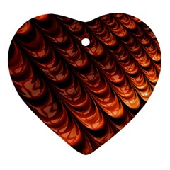 Fractal Mathematics Frax Heart Ornament (two Sides) by Nexatart
