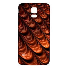 Fractal Mathematics Frax Samsung Galaxy S5 Back Case (white)