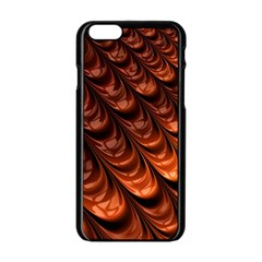 Fractal Mathematics Frax Apple Iphone 6/6s Black Enamel Case