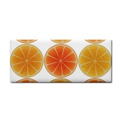 Orange Discs Orange Slices Fruit Cosmetic Storage Cases by Nexatart