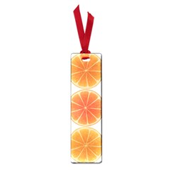 Orange Discs Orange Slices Fruit Small Book Marks