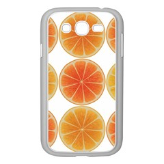 Orange Discs Orange Slices Fruit Samsung Galaxy Grand Duos I9082 Case (white) by Nexatart