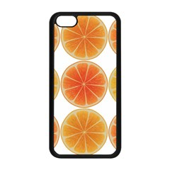 Orange Discs Orange Slices Fruit Apple Iphone 5c Seamless Case (black) by Nexatart
