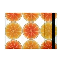 Orange Discs Orange Slices Fruit Ipad Mini 2 Flip Cases by Nexatart