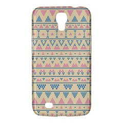 Blue And Pink Tribal Pattern Samsung Galaxy Mega 6 3  I9200 Hardshell Case by berwies