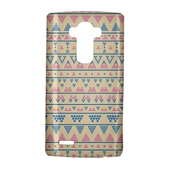 Blue And Pink Tribal Pattern Lg G4 Hardshell Case by berwies