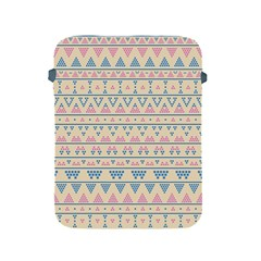 Blue And Pink Tribal Pattern Apple Ipad 2/3/4 Protective Soft Cases by berwies