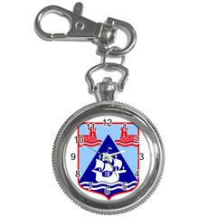 Haifa Coat Of Arms  Key Chain Watches by abbeyz71