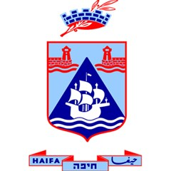 Haifa Coat Of Arms  5 5  X 8 5  Notebooks by abbeyz71