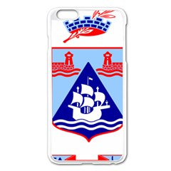 Haifa Coat Of Arms  Apple Iphone 6 Plus/6s Plus Enamel White Case by abbeyz71