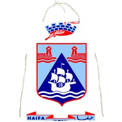Haifa Coat Of Arms  Full Print Aprons by abbeyz71