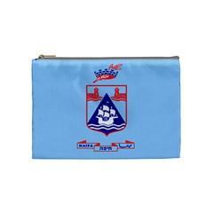 Flag Of Haifa Cosmetic Bag (medium)  by abbeyz71