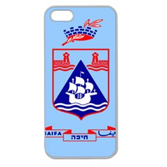 Flag Of Haifa Apple Seamless Iphone 5 Case (clear) by abbeyz71