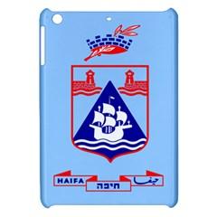 Flag Of Haifa Apple Ipad Mini Hardshell Case by abbeyz71