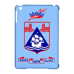 Flag Of Haifa Apple Ipad Mini Hardshell Case (compatible With Smart Cover) by abbeyz71